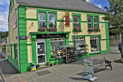 The Flower Shop in Stranorlar, Ireland