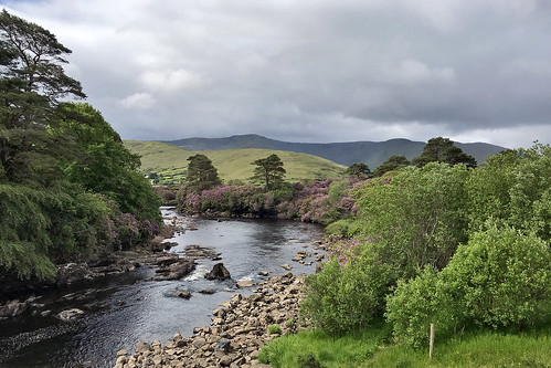 Leenane near Aasleagh Falls, Ireland