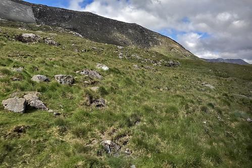 Rugged countryside near Maum, Ireland