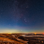 Orion Rising over the Bow River
