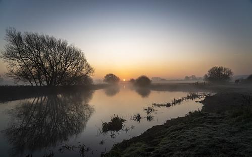 Sunrise on the River Nene