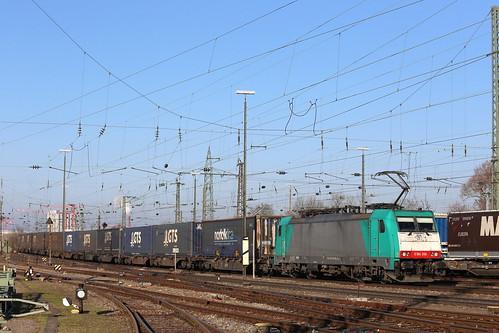 LINEAS 186 206-9 GTS Zug, Basel Bad Bhf