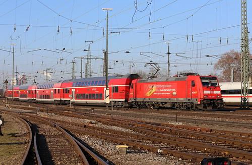 DB Regio 146 225-8 RE, Basel Bad Bhf