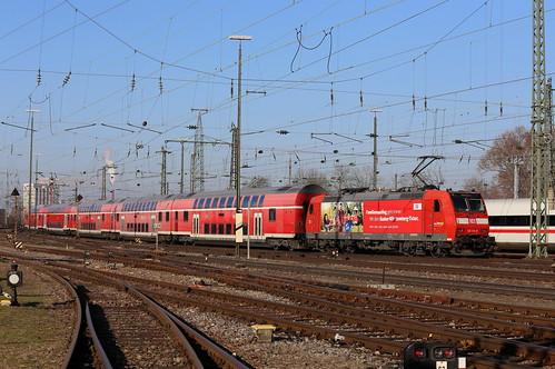 DB Regio 146 113-6 Familienausflug, RE Basel Bad Bhf