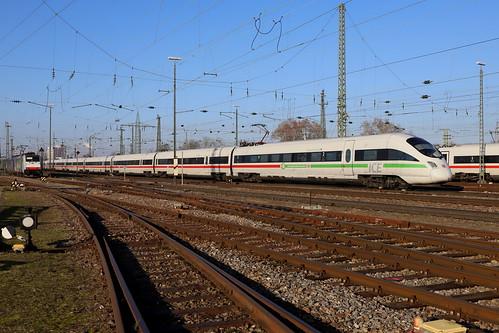 DB ICE-T 411 581-2 Oberursel, Basel Bad Bhf