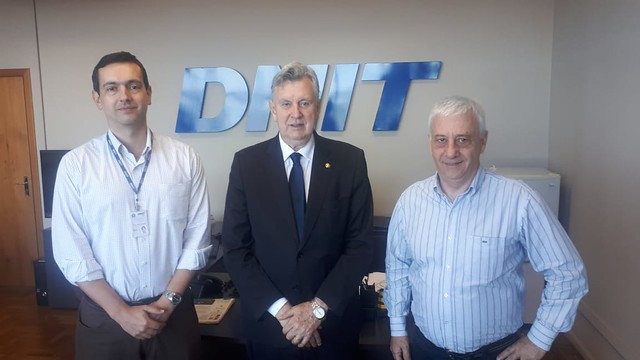 02/12/2019 Reunião com superintendente do DNIT RS Delmar Pelegrini