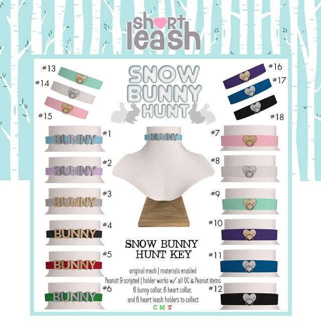 .:Short Leash:. Snow Bunny Hunt 2019 Key