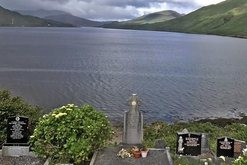Leenane Cemetery, Killary Harbour, Letterbrickaun, Ireland
