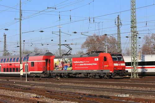 DB Regio 146 113-6 Familienausflug, Basel Bad Bhf