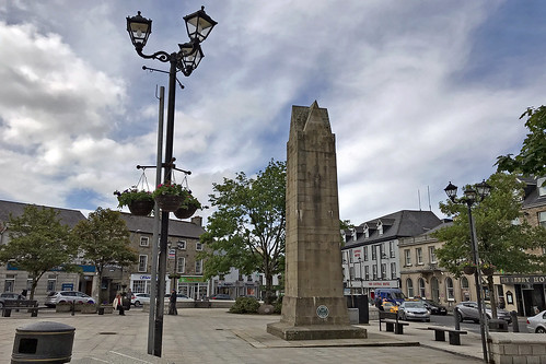 Four Masters Memorial, The Diamond, Donegal Town, County Donegal, Ireland