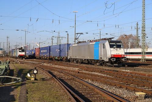 LINEAS 186 505-4 KLV, Basel Bad Bhf