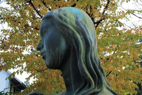 Skulptur von Heinz Schwarz (1920 - 1994). Solothurn. Schweiz