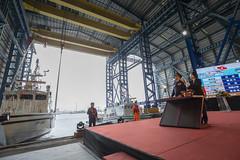 12.06 總統出席海洋委員會艦艇交船典禮及接受媒體相關時事提問