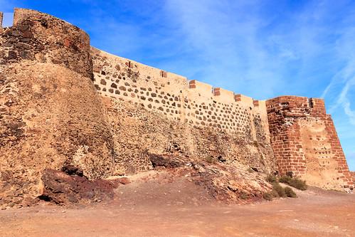 Castillo de Santa Bárbara, Lanzarote.