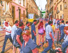Street Scene Lviv, Ukraine, July