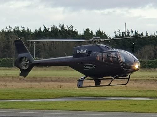 Eurocopter EC-120B EI-MIK seen at Dublin Weston Airport EIWT