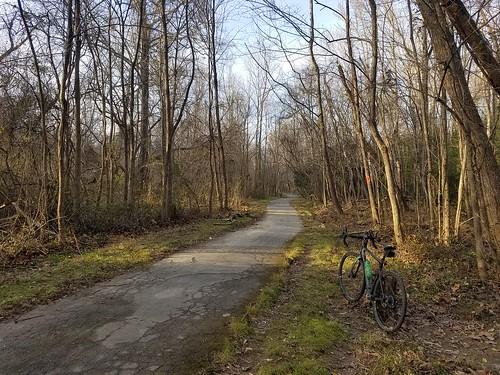 2019 Bike 180: Day 187 - Cross County Trail