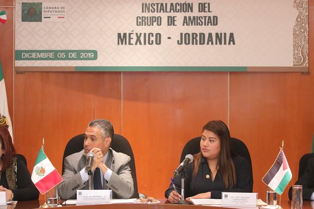 05/12/2019 Grupo De Amistad México-Jordania