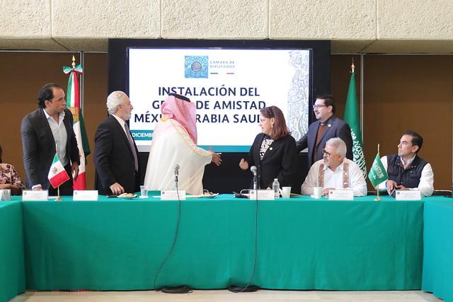 05/12/2019 Grupo De Amistad México-Arabia Saudita