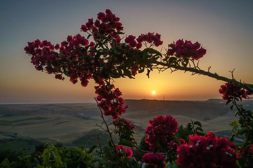 Sonnenuntergang Andalusien