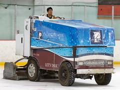 Zamboni Ice-Resurfacing Machine