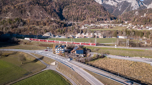 Schweiz, Graubünden, Bonaduz