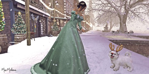 """""""Snow flurries began to fall and they swirled around people's legs like house cats. It was magical, this snow globe world."""" ― Sarah Addison Allen"""