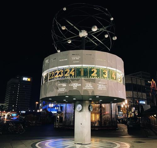Berlin by Night: Alexanderplatz
