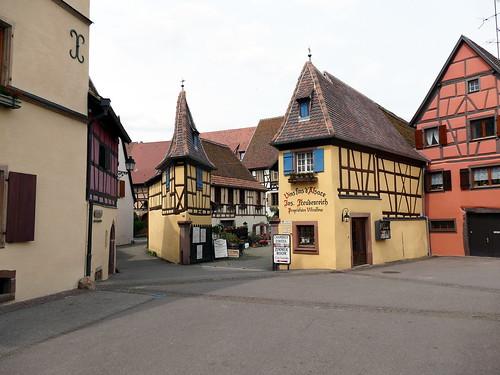 Weinkellerei in Eguisheim