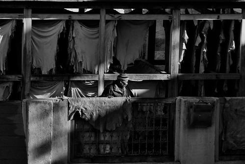 Chouara Tannery's Worker (2)
