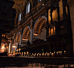St Paul's, the Quire