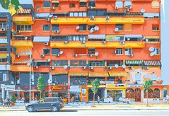 Apartment Block, Tirana, Albania
