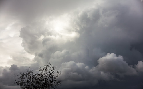 Nubes sobre Aljaraque