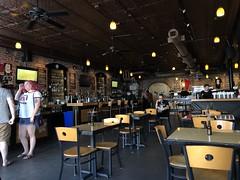 Dining area and bar, The Bricks, 7th Avenue, Ybor City, Tampa, Florida