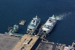 Ferries at the Dock