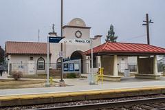 Wasco, CA Amtrak station
