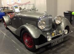 Bentley 4¼ Litre Vanden-Plas Tourer (1936)