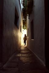 Luz en las calles de la judería de Córdoba