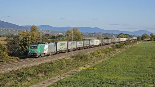 BB 37056 Train 40345 Mont St Martin-Gallarate à Rouffach