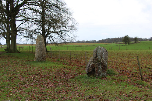Standing Stones near Weris