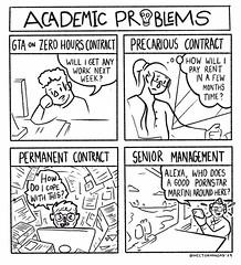 Academic Problems by Héctor Mangas #UCUStrike @um_ucu @hectormangas