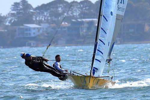16ft Skiff Sailing