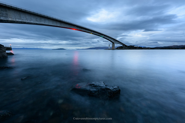 Skye Bridge Blue Hour