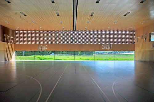 Dual Sports Hall, Borex-Crassier