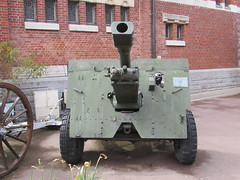 Albert: British 25 pdr field gun (Somme)