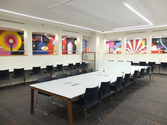 Maria Zaikina, Tesla hall mural in Technion (Israel Institute of Technology)