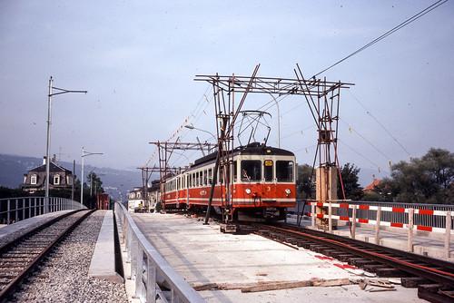 Nidau | CH-BE (Bern) | 08.09.1979 | Bridge over the Nidau-Büren channel in construction