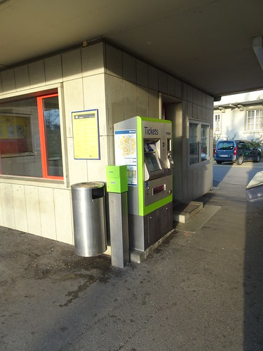 Billettautomat in Laupen