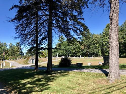 Evans Cemetery, Bow, NH