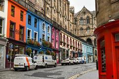 Edinburgh: Victoria Street